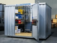 Opslag materiaal container