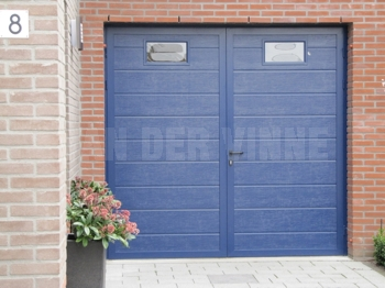 Vensters in de garagedeur